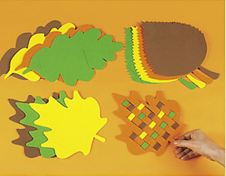 Что можно сделать из бумаги на тему Осень: мастер классы с фото osennie cvety iz bumagi 46