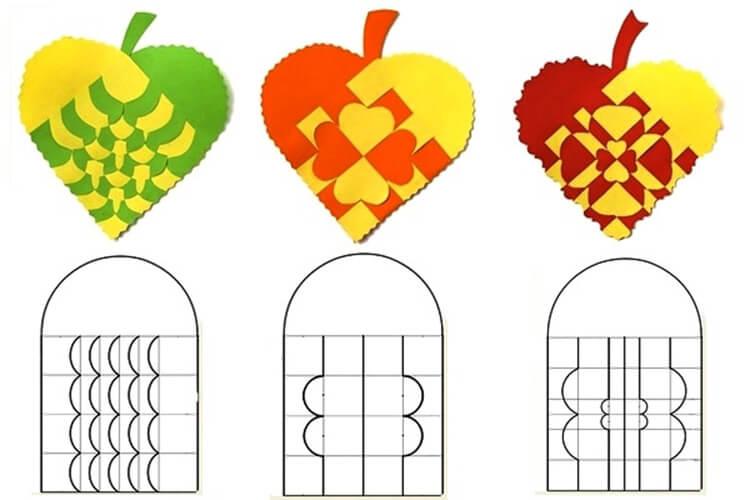 Что можно сделать из бумаги на тему Осень: мастер классы с фото osennie cvety iz bumagi 49