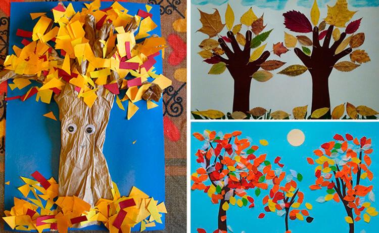 Что можно сделать из бумаги на тему Осень: мастер классы с фото osennie cvety iz bumagi 51