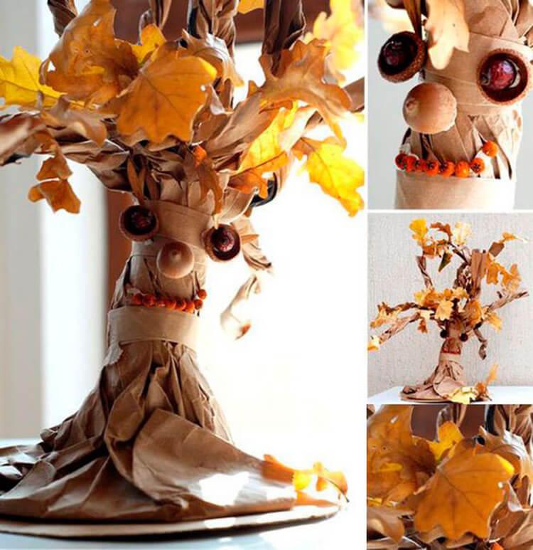 Что можно сделать из бумаги на тему Осень: мастер классы с фото osennie cvety iz bumagi 52