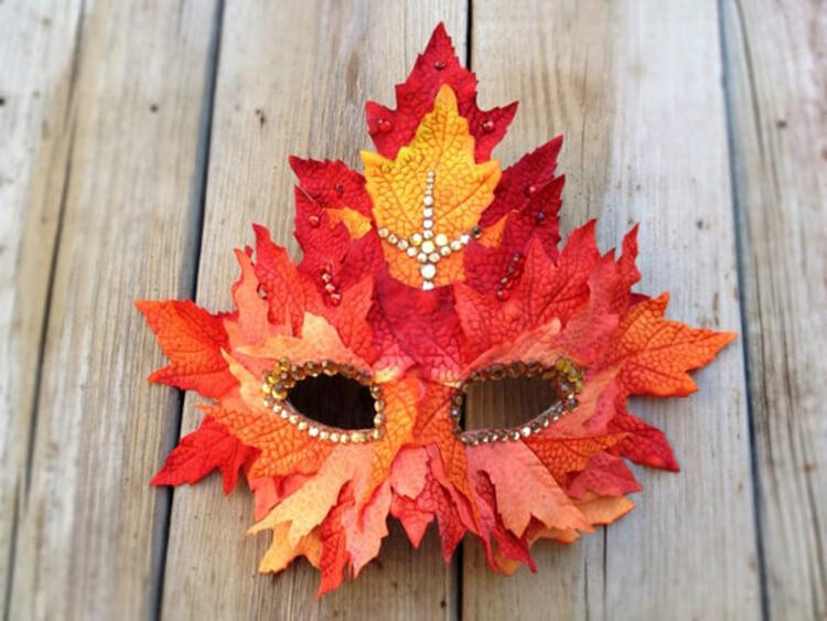 Интересные и красивые поделки из осенних листьев в садик и школу osennie podelki iz listev 28