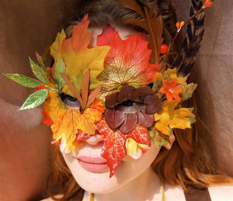 Интересные и красивые поделки из осенних листьев в садик и школу osennie podelki iz listev 29