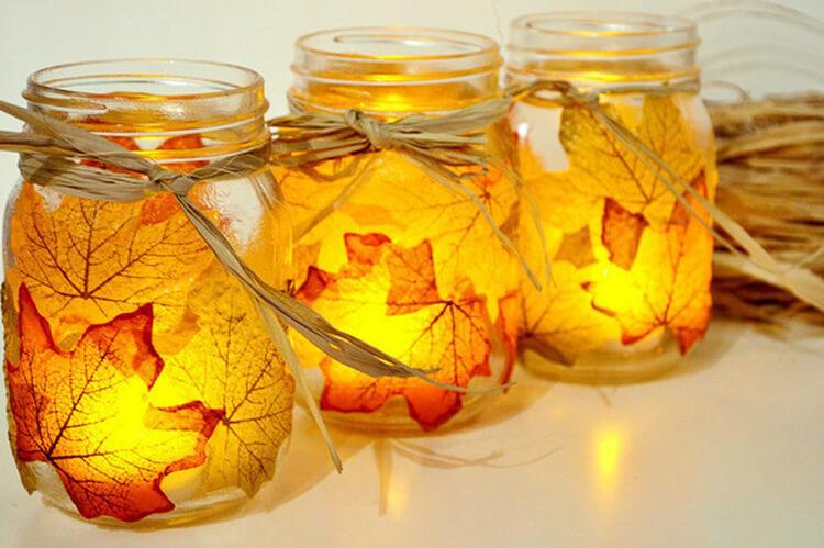 Интересные и красивые поделки из осенних листьев в садик и школу osennie podelki iz listev 34