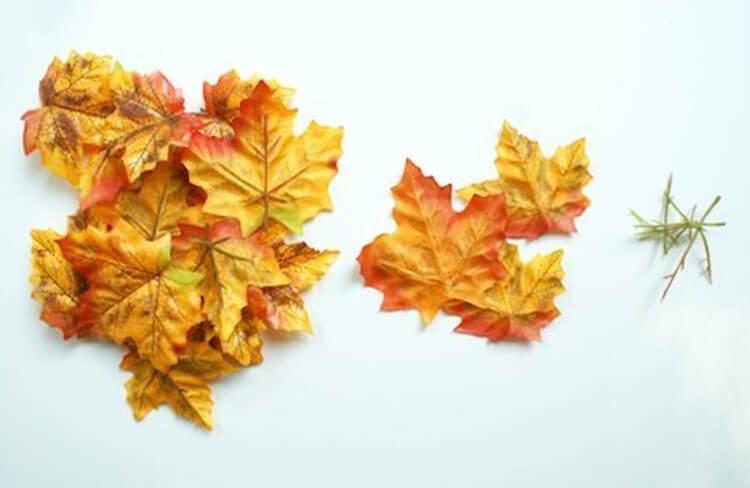 Интересные и красивые поделки из осенних листьев в садик и школу osennie podelki iz listev 38