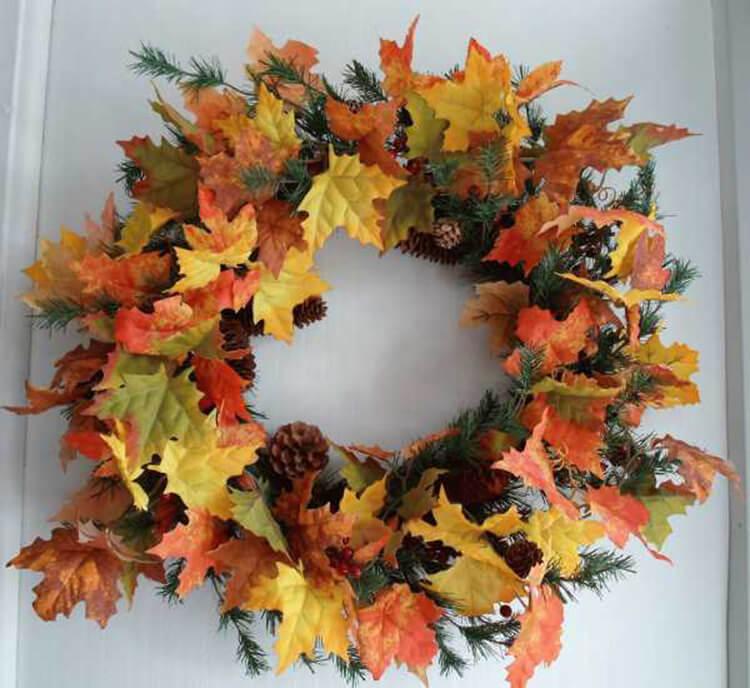 Интересные и красивые поделки из осенних листьев в садик и школу osennie podelki iz listev 42