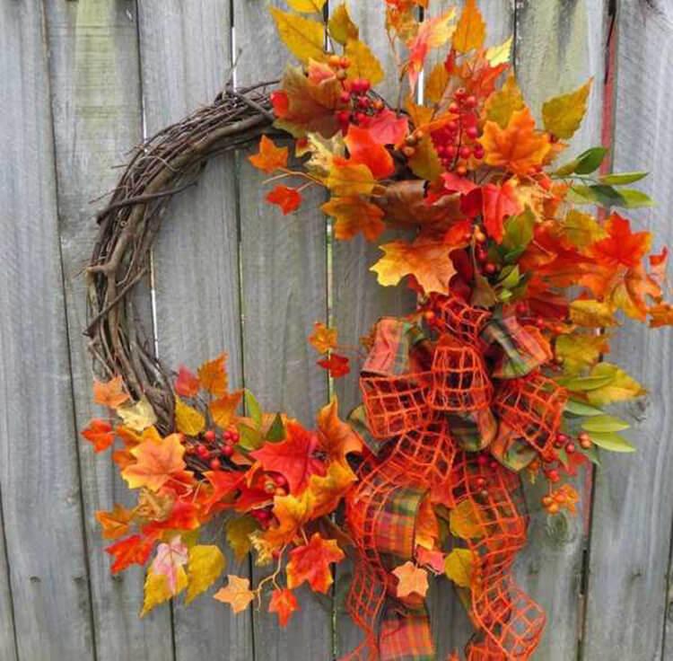 Интересные и красивые поделки из осенних листьев в садик и школу osennie podelki iz listev 43
