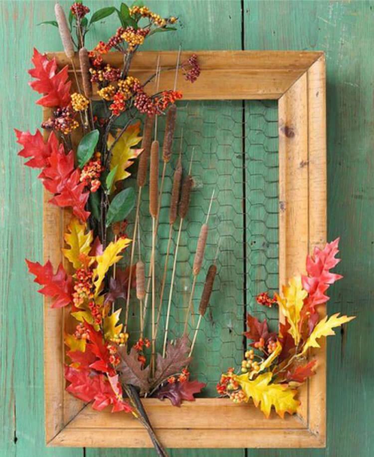Интересные и красивые поделки из осенних листьев в садик и школу osennie podelki iz listev 9
