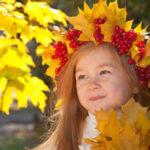 Красивый осенний венок: мастер классы, советы, варианты с фото