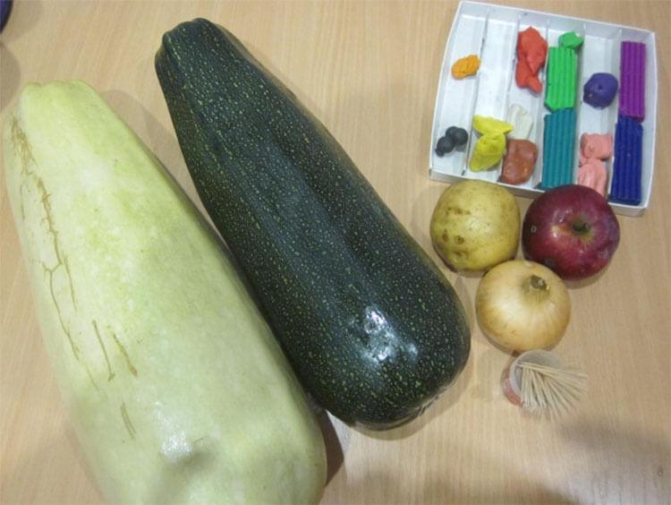 Что можно сделать из кабачка: варианты поделок в садик и школу podelki iz kabachka svoimi rukami 17