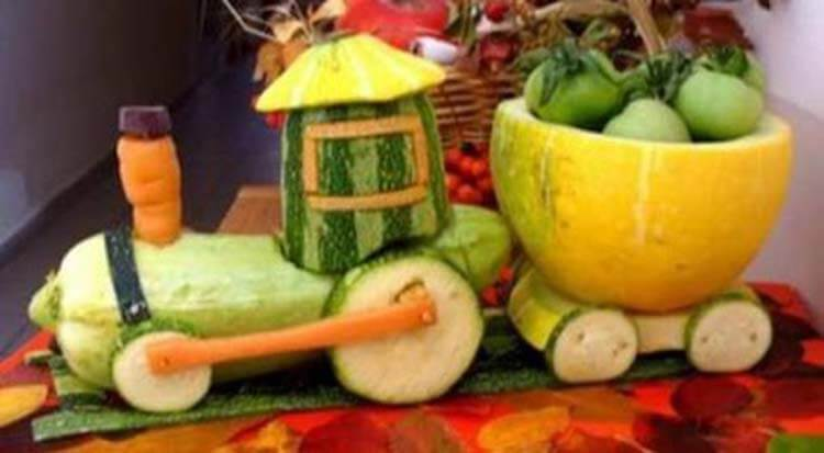Что можно сделать из кабачка: варианты поделок в садик и школу podelki iz kabachka svoimi rukami 39