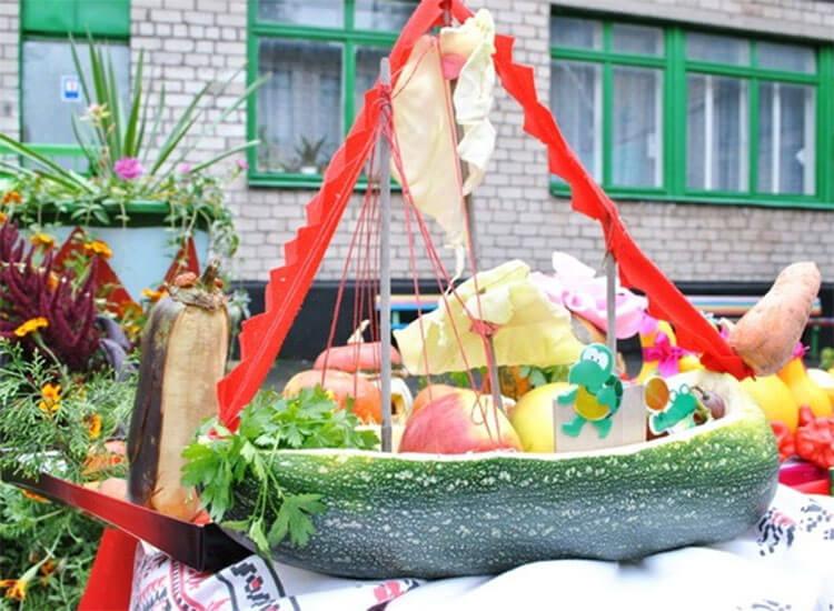 Что можно сделать из кабачка: варианты поделок в садик и школу podelki iz kabachka svoimi rukami 9