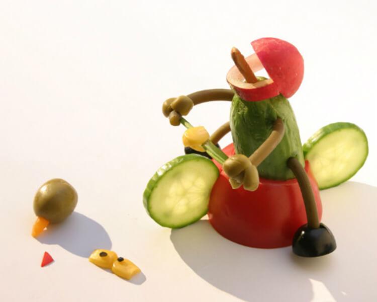 Как сделать поделку из помидор в школу на праздник Осени podelki iz ovoshchej iz pomidor 18