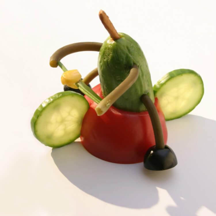 Как сделать поделку из помидор в школу на праздник Осени podelki iz ovoshchej iz pomidor 8