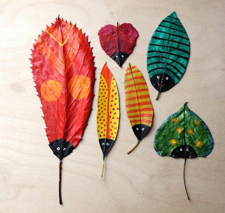 Красивые и оригинальные поделки в школу из природных материалов podelki iz prirodnogo materiala 13