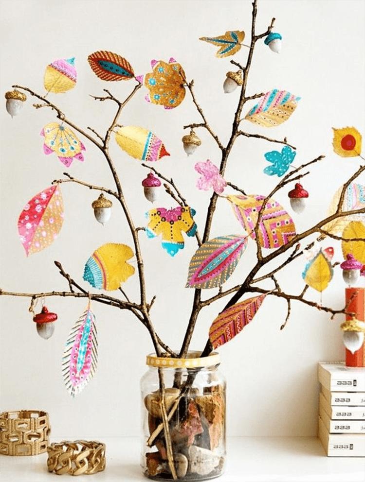 Красивые и оригинальные поделки в школу из природных материалов podelki iz prirodnogo materiala 14