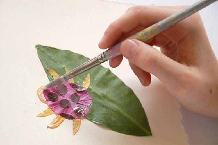 Красивые и оригинальные поделки в школу из природных материалов podelki iz prirodnogo materiala 23