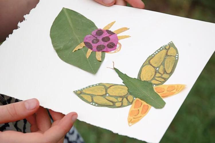 Красивые и оригинальные поделки в школу из природных материалов podelki iz prirodnogo materiala 24