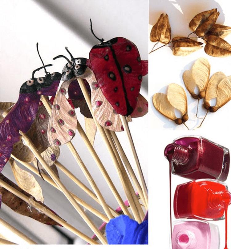 Красивые и оригинальные поделки в школу из природных материалов podelki iz prirodnogo materiala 25