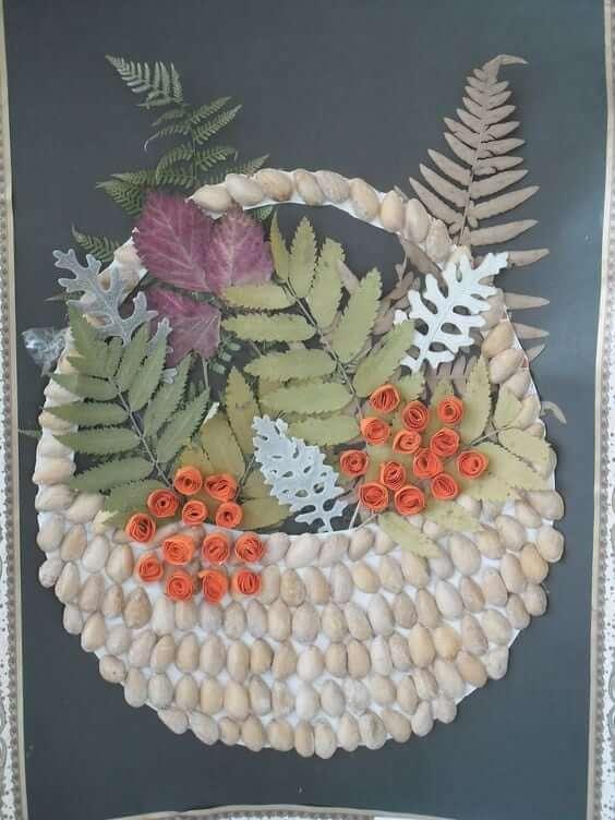 Поделки из природного материала: что можно сделать на осеннюю тематику podelki iz prirodnogo materiala 40 1