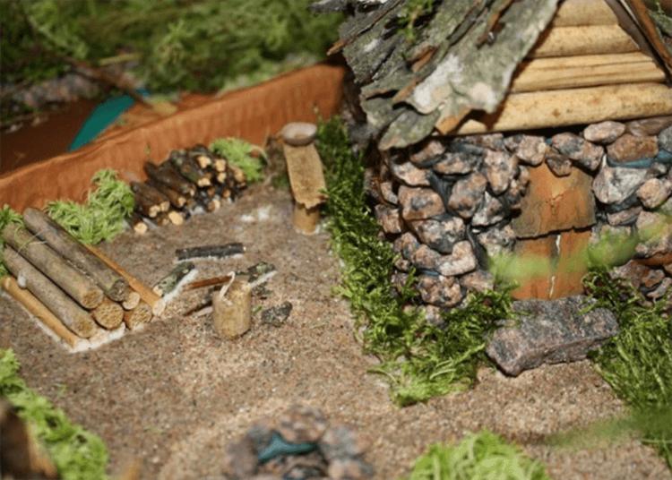 Красивые и оригинальные поделки в школу из природных материалов podelki iz prirodnogo materiala 42