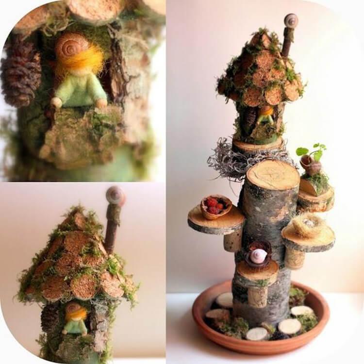 Поделки из природного материала: что можно сделать на осеннюю тематику podelki iz prirodnogo materiala 48 1