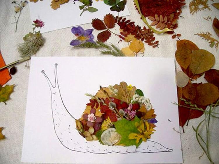 Красивые и оригинальные поделки в школу из природных материалов podelki iz prirodnogo materiala 68