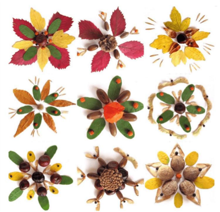 Красивые и оригинальные поделки в школу из природных материалов podelki iz prirodnogo materiala 72