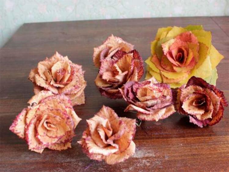Красивые и оригинальные поделки в школу из природных материалов podelki iz prirodnogo materiala 96
