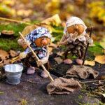 Интересные поделки из шишек в школу на тему Осень