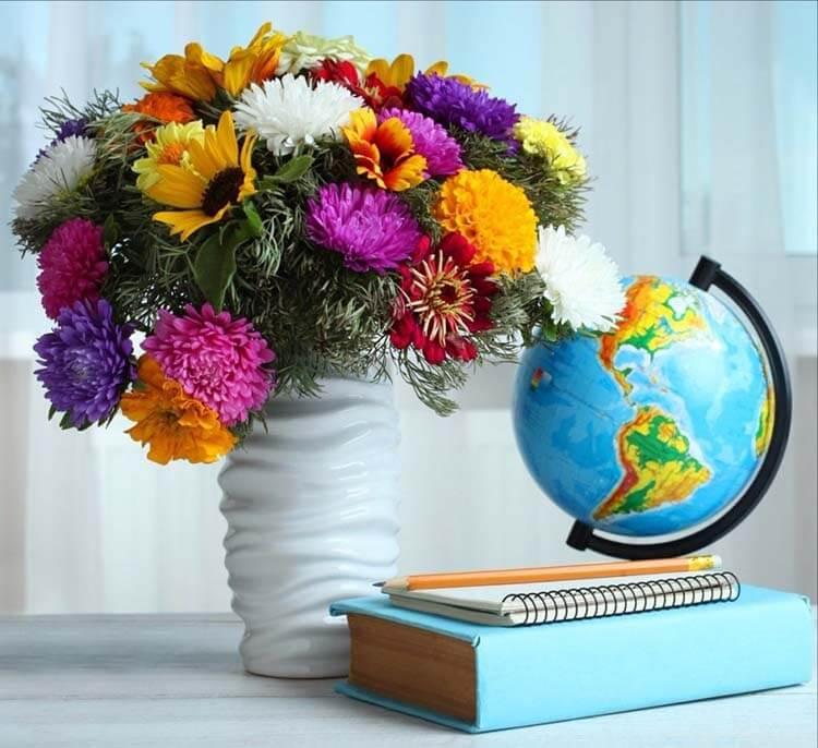Красивые и оригинальные поделки ко дню учителя в школу podelki ko dnyu uchitelya 1