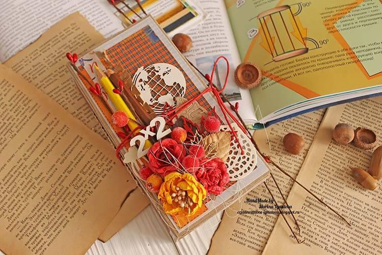 Шоколадница ко дню учителя: оригинальный подарок своими руками shokoladnica na den uchitelya 1