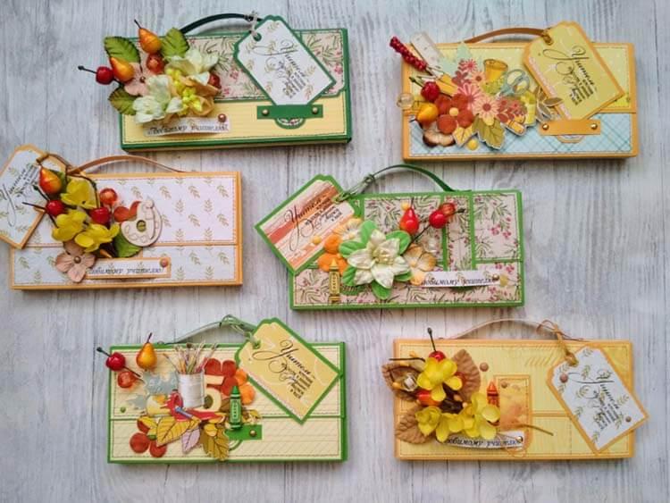 Шоколадница ко дню учителя: оригинальный подарок своими руками shokoladnica na den uchitelya 15