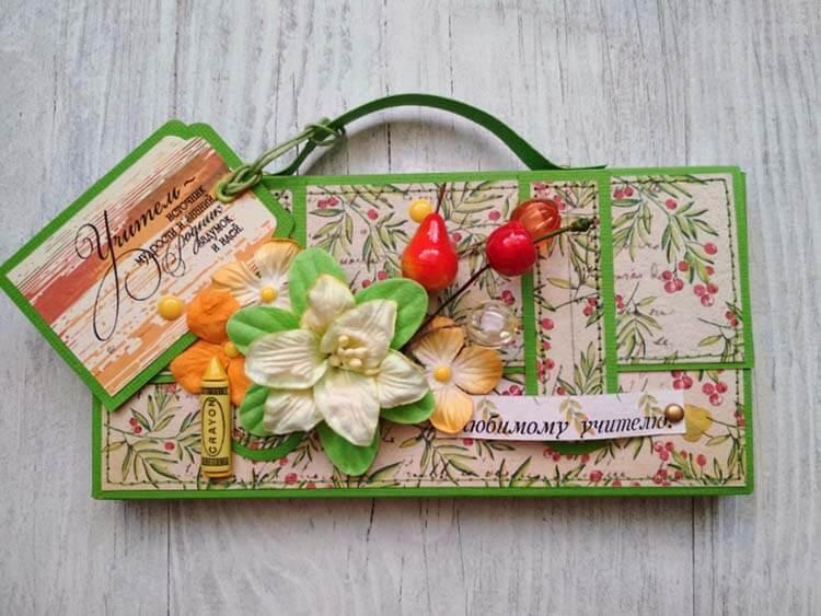 Шоколадница ко дню учителя: оригинальный подарок своими руками shokoladnica na den uchitelya 16