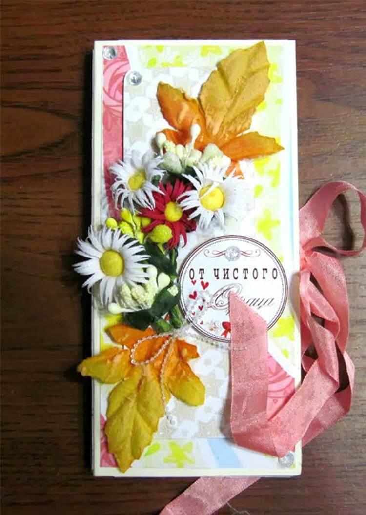 Шоколадница ко дню учителя: оригинальный подарок своими руками shokoladnica na den uchitelya 17
