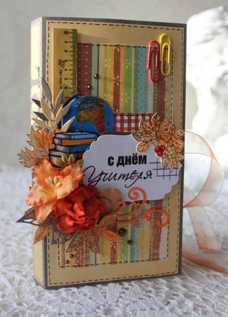 Шоколадница ко дню учителя: оригинальный подарок своими руками shokoladnica na den uchitelya 36