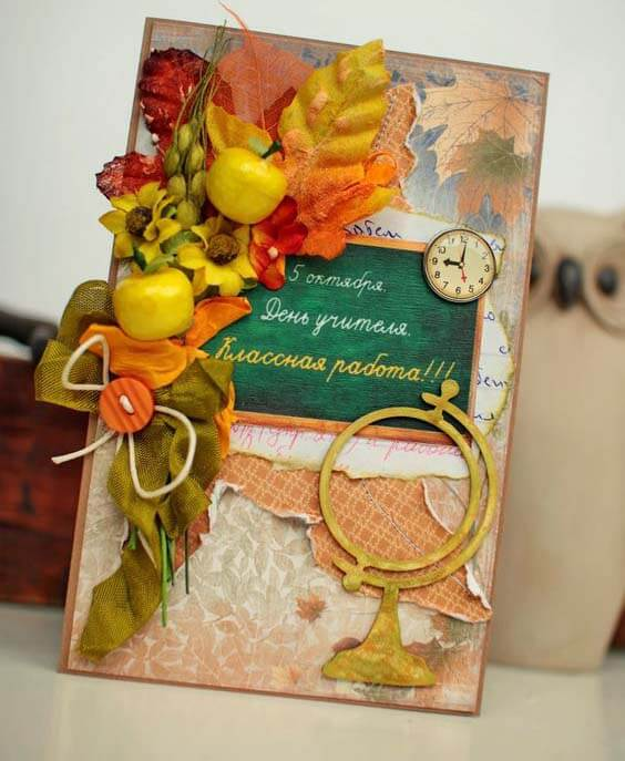 Шоколадница ко дню учителя: оригинальный подарок своими руками shokoladnica na den uchitelya 38