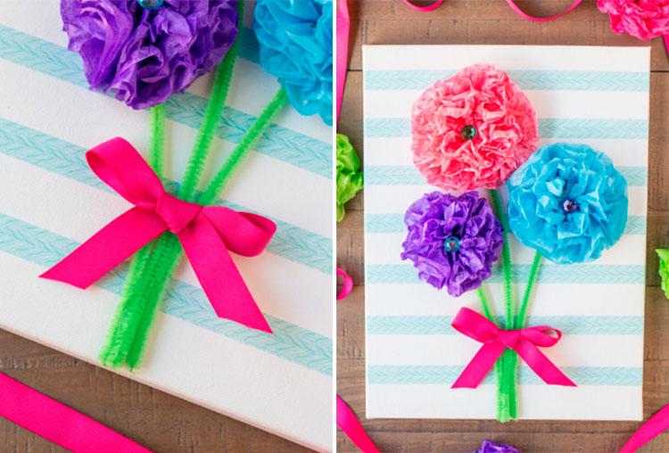 Красивые и яркие открытки для мамы на День матери 24 25