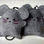 Как сделать крысу из фетра: пошаговые мастер классы