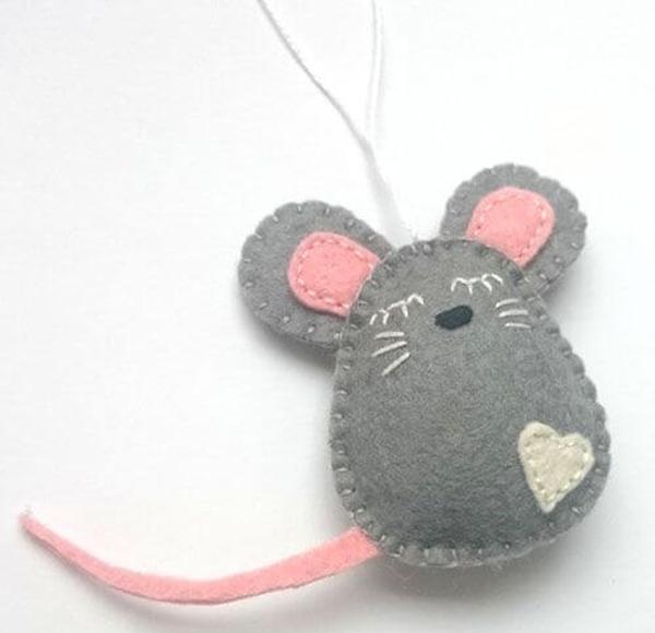 Как сделать крысу из фетра: пошаговые мастер классы myshka iz fetra 26