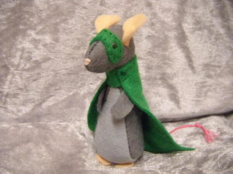 Как сделать крысу из фетра: пошаговые мастер классы myshka iz fetra 37