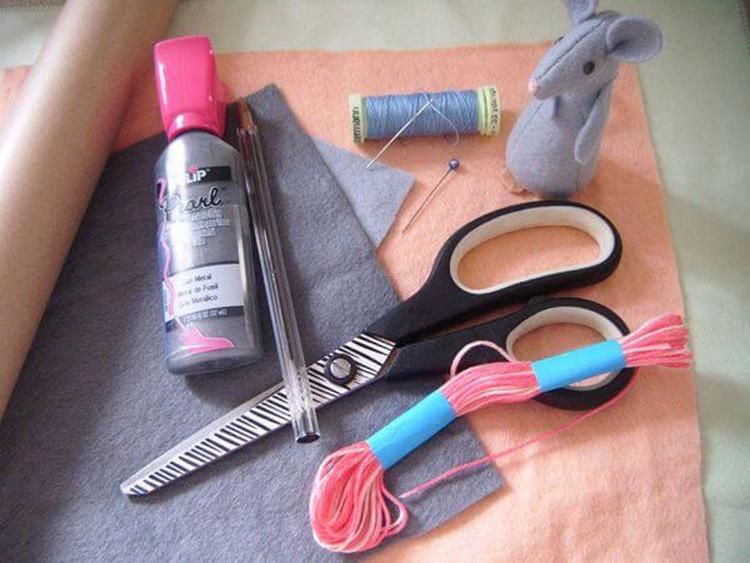 Как сделать крысу из фетра: пошаговые мастер классы myshka iz fetra 38