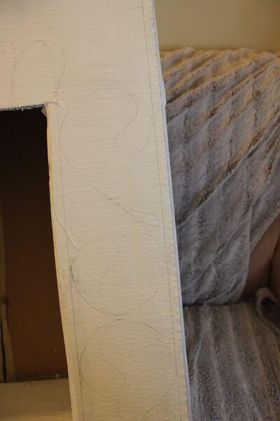 Декоративный камин как украшение комнаты на Новый год novogodnij kamin svoimi rukami 15