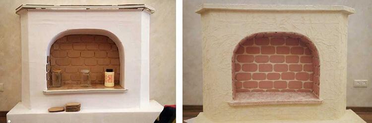 Декоративный камин как украшение комнаты на Новый год novogodnij kamin svoimi rukami 52