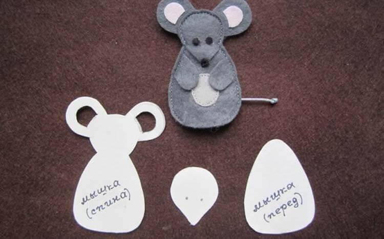 Готовимся к году Крысы: поделки на 2020 год simvol 2020 goda 10