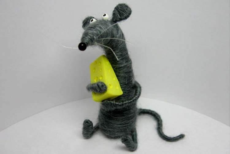 Готовимся к году Крысы: поделки на 2020 год simvol 2020 goda 97