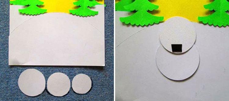 Делаем снеговика своими руками к новому году : различные способы  с фото 25 26