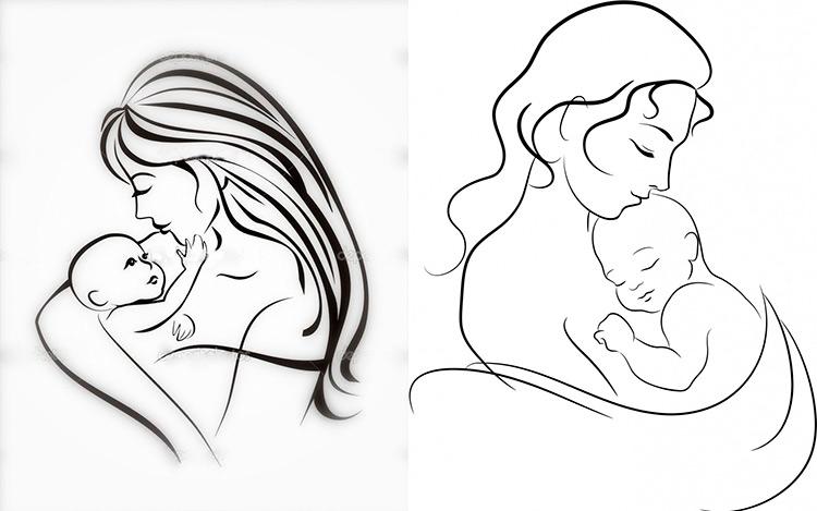 Детские рисунки на день матери: выражаем свою любовь к маме на бумаге 39 40