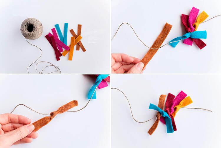 Новогодние поделки из фетра: что можно сделать своими руками как украшение елки и дома iz fetra ng 108 111