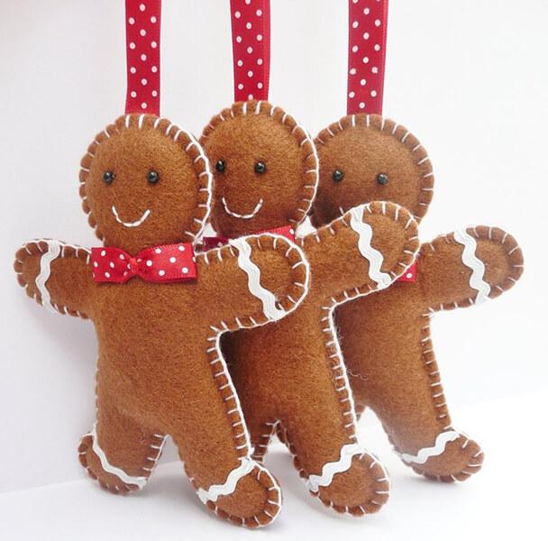 Новогодние поделки из фетра: что можно сделать своими руками как украшение елки и дома iz fetra ng 11