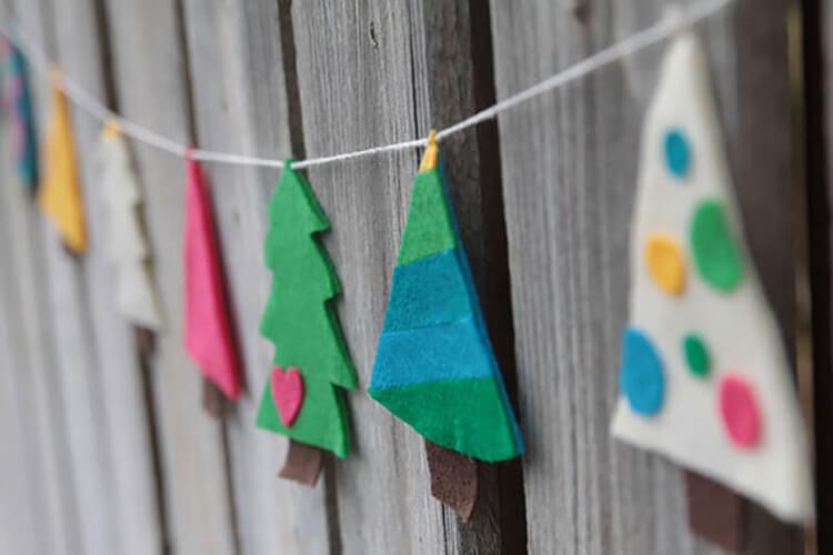 Новогодние поделки из фетра: что можно сделать своими руками как украшение елки и дома iz fetra ng 114